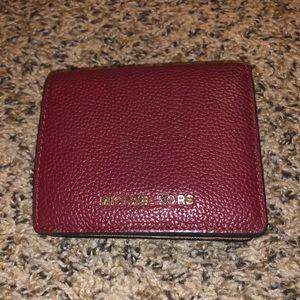 Michael Kors Bags - Michael Kors red small wallet